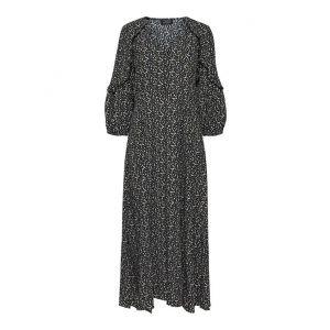 Selected femme SLFRiyanka Oriana 3/4 dress 16076591 Zwart_1