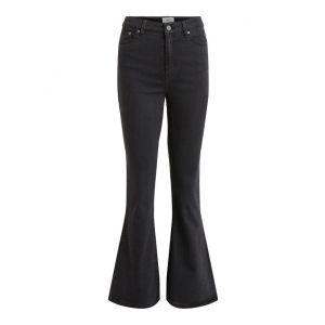 Object OBJWin Denim MW Flared Jeans 23033920 Zwart_1