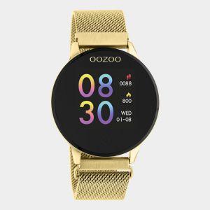 Oozoo Smartwatch Meshband  Q00121 Goud/Goud_1