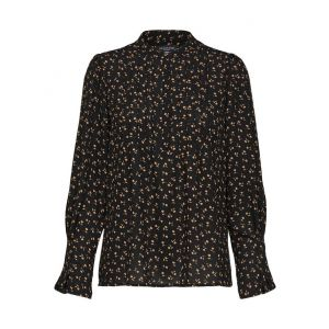 Selected femme SLFLivia LS blouse 16076668 Zwart_1