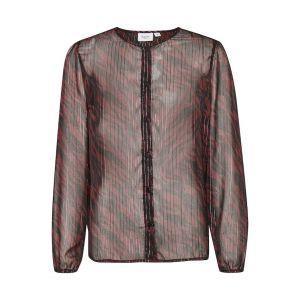saint tropez  DednaSZ LS blouse 30510725 Fudge_1