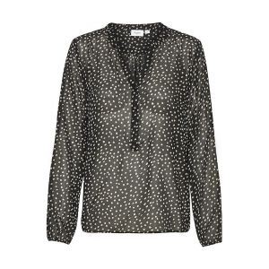 saint tropez  AllieSZ blouse 30511231 Zwart_1