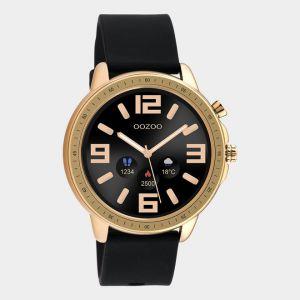Oozoo Smartwatch Rubberenband Q00303 Rose/Zwart_1