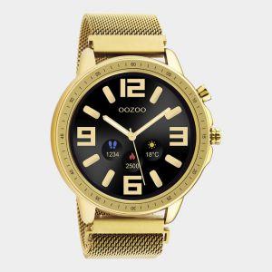 Oozoo Smartwatch Meshband Q00306 Goud/Goud_1