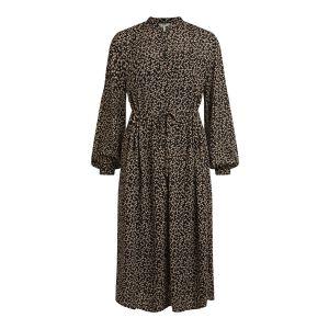 Object OBJMila LS Short Dress 23035066 Zwart_1