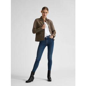 Selected femme SLFSophia MW skinny Dark blue jeans 16077554 Dark Blue_1