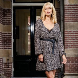 Juul&Belle Thunder print Verda Dress Thunder print Verda Dress Zwart_1