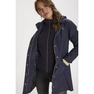 saint tropez  Elina Coat 30510710 Blue Deep_1