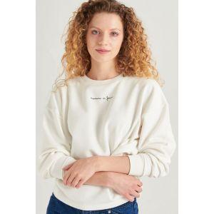 24 colours Sweatshirt 50661 Wit_1