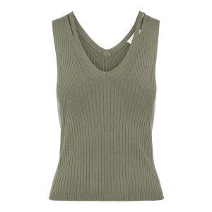 Object OBJRosalia knit Tank 23035532 groen_1