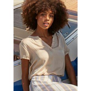 I Say Liva SS blouse 56718 zand_1