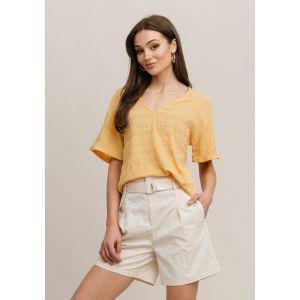 Rut&Circle Cornelia blouse 21-02-32 geel_1