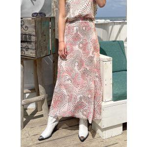 Peopleof2morrow Arabelia Plisse Skirt Q971SM Rose_1
