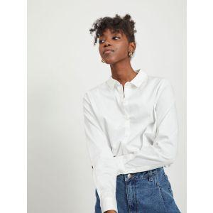 Object OBJRoxa LS Loose shirt 23032978 Wit_1