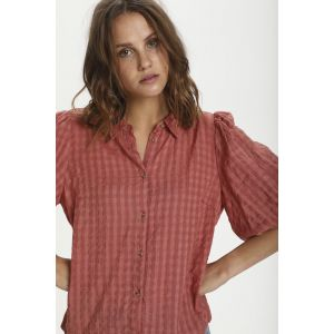 saint tropez  HirliSZ blouse 30511308 Brick Dust_1