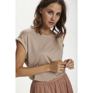 saint tropez  AdeliaSZ T shirt 30501441 Light Taupe_1