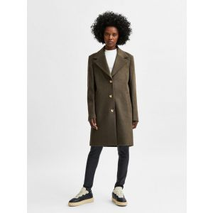 Selected femme SLFNew Sasja Wool Coat 16079292 Tarmac_1