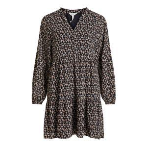Object OBJMila Gia LS Dress 23035512 Zwart_1