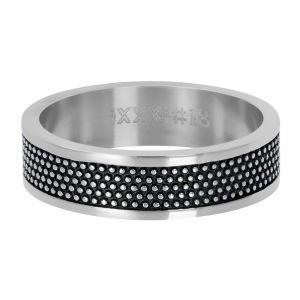 iXXXi Row Dots R03205-03 Zilver 3 Zilver