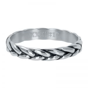 iXXXi Wheat knot R05102-18 Silver 3 Zilver