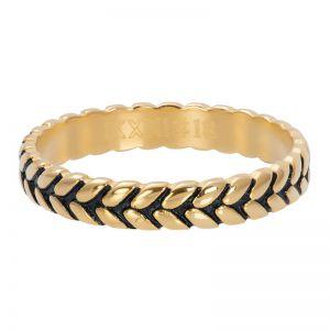 iXXXi Leaf knot R05104-16 Gold 1 Goud