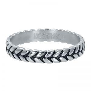 iXXXi Leaf knot R05104-18 Zilver 3 Zilver
