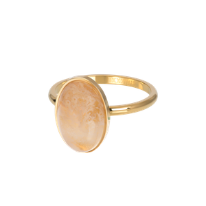 iXXXi Royal Queen drop Topaz  xs collectie R05704-01 Gold 1 Goud